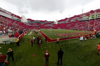Arkansas Razorbacks Gigapixel Stadium Panorama
