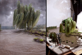 A BTS Look at Diorama Landscape Photography