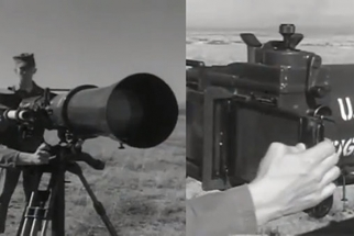 Old US Army Camera Had A 100-Inch Infrared Lens And Required A Spotter