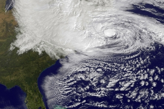 Pictures Of Hurricane Sandy Approaching The East Coast
