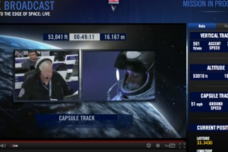 Happening Now! Felix Baumgartner's Live Space Jump