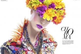 "Lindsay Adler Shoots Her ""Chroma"" Fashion Editorial"