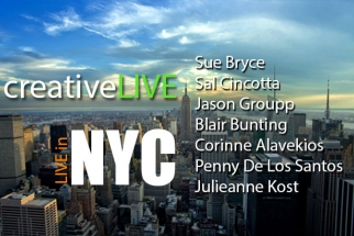 CreativeLIVE: Watch Eight Pro Photographers Speak Live In NYC