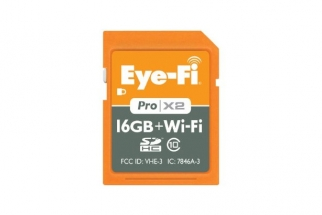 Eye-Fi Unveils New 16GB Pro X2 Wireless Memory Card