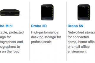 Drobo Mini, 5D, and 5N Preliminary Review