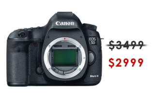 The Canon 5D Mark III is Currently On Sale