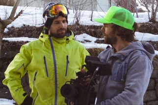 Behind The Scenes Of One Of The Most Popular Street-Ski Films
