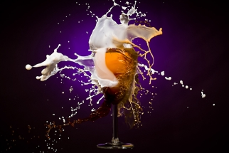 Creating an Exploding Coffee and Milk Photograph