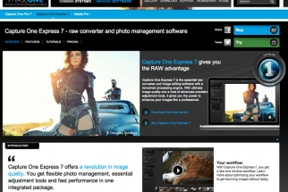 Capture One Express 7 Announced - Phase One's Affordable Raw Processing Software For Under $100