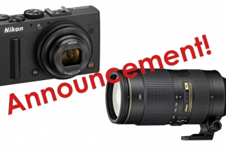 Nikon Announces the Brand New 80-400mm f/4.5-5.6G, The Coolpix A and More!