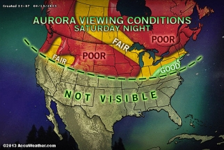 Northern Lights Might Make A Visit To Parts Of The US Tonight!