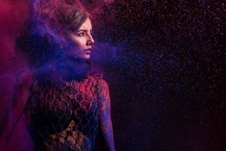 BTS: Paint Pigments Make a Colorful and Fun Photoshoot