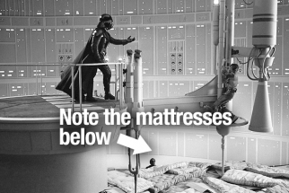 Behind The Scenes Photos from Empire Strikes Back