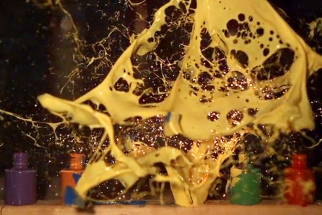 Pyromania Meets Paint at 15,000 FPS!