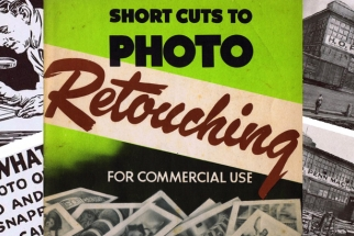 The Old Way Of Photo Retouching From The 1940's