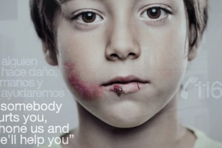 Anti-Abuse Lenticular Print Show Kids And Adults Different Ads