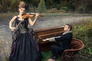 Behind the Scenes: Shooting a Breathtaking Classical Album Cover