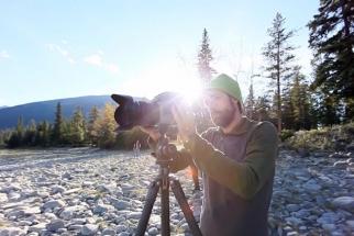 BTS - Outdoor Catalog Shoot In Jasper National Park From Lars Schneider