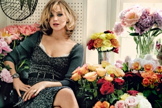 See Jennifer Lawrence's Photo Shoot for Vogue Magazine