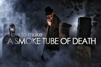 Jay P Morgan Teaches Us How to Make a Smoke Tube of Death!