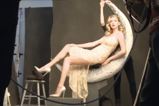 Annie Leibovitz Shoots Kate Upton for Vanity Fair's 100th