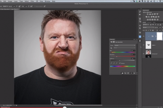 How To Enhance Eyes And Add Fake Facial Hair In Photoshop