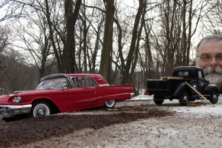 Model Maker Turns Toy Cars Into Nostalgic Life-Like Images - On A $200 Point And Shoot