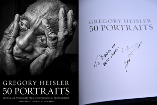Lost Signed Copy of Gregory Heisler's 50 Portraits