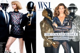 Was Vogue's Daft Punk Spread Ripped Off for This WSJ Magazine Cover?