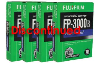 The Discontinuation of Fuji 3000b Instant Film by Fujifilm