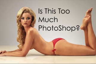 Knowing When To Say No - Is This Too Much Photoshop?