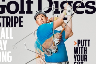 The making of the Golf Digest Magazine January 2014 Cover Shoot