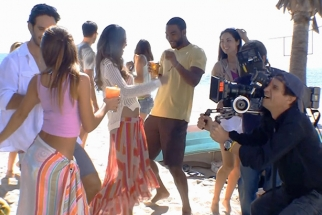 Lights, Cameras, And Pirates: Behind The Scenes On A Malibu Rum Ad