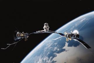 Van Damme Zero Gravity Splits In Space - Take that Chuck Norris