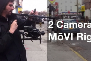 Shoot A and B Camera Simultaneously with MōVI