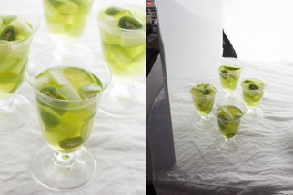 A Saint Patrick's Day Inspired Cocktail Shoot