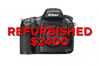 Deal Summary: Nikon/Canon Rebates Ending, D800 Refurb for $2400 & Sony Trade-Up