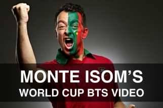 Monte Isom Takes You Behind-the-Scenes of his World Cup Shoot