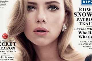 BTS With Scarlett Johannson for Vanity Fair