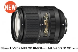 Nikon Announces New AF-S DX NIKKOR 18-300mm f/3.5-6.3G ED VR Lens