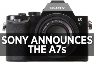 Sony Announces the Sony a7S, a Mirrorless Full Frame Video Monster
