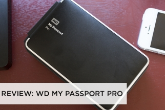 The WD My Passport Pro Thunderbolt HDD is Beastly in Weight & Performance