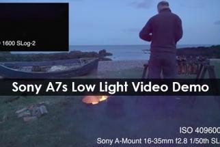 Astonishing Sony A7s Low Light Video Demo