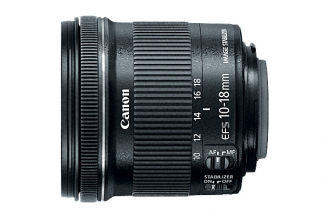 Canon Announces the 10-18mm f/4.5-5.6 EF-S IS STM Lens