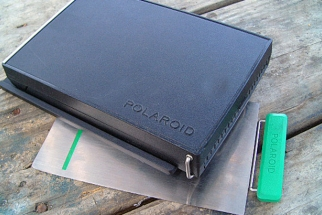 """Nearly New"" Polaroid 405 4x5 Instant Film Back on Kickstarter"