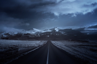 'Blue Iceland' Series Features Richly Detailed Landscapes in Infrared