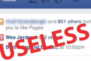 Sending Page Invites On Facebook Is Close To Useless