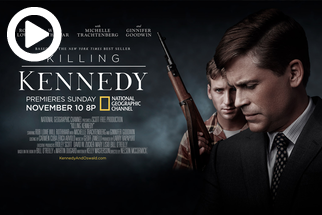 Behind the Scenes of Killing Kennedy for National Geographic