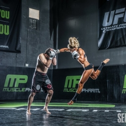 Noora at MusclePharm