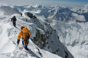 Jimmy Chin, Everest Summit Ridge